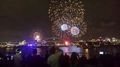 Chris corben Sydney new years eve fireworks