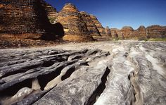 Australia's Best Natural Wonders - Bungle Bungles beehive like formations.