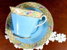 Vintage Japanese Teacup, N&C Tea Cup and Saucer