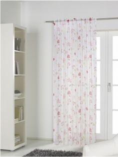 Romantischer Landhaus-Flair. Gardinen mit verdeckten Schlaufen Gardinen-Outlet.com Maße: ca. 245 x 135 cm (HxB)