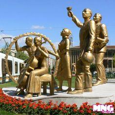 Trip, Buddha, Statue, Sculptures, Sculpture