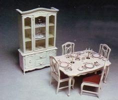 Sindy doll dining room set..