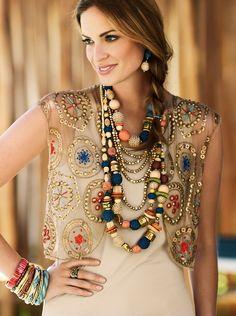 Beautiful Boho Jewelry selected for you Boho Chic, Bohemian Mode, Hippie Chic, Bohemian Style, Ethno Style, Gypsy Style, Boho Gypsy, My Style, Bohemian Schick