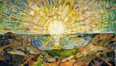 TheVisual o1: Analyse av Solen (Edvard Munch)