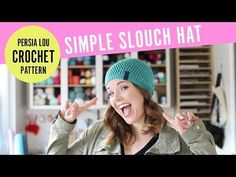 How to Crochet a Chunky Hat in 30 Minutes! Free Quick & Easy Crochet Pattern - YouTube