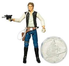 Star Wars 30th Anniversary #11 Han Solo Action Figure  http://www.comparestoreprices.co.uk/action-figures/star-wars-30th-anniversary-11-han-solo-action-figure.asp