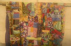 Pagne realizzato con ritagli tessuto Wax
