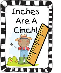 First Grade Wow: Inches are a Cinch