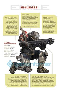 Our series on the new heroes of Halo: Reach continues, with a look at the team's silent team member. Halo 5, Halo Game, Video Game Art, Video Games, John 117, Halo Spartan, Halo Armor, Halo Series, Game Informer