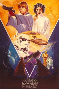 Star Wars: Poster concept-art by Wojtek Siudmak.