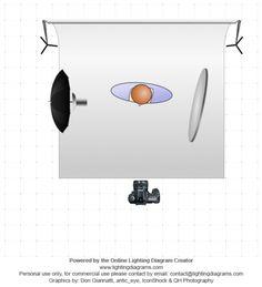 Headshot photo and lighting setup with Bounce Umbrella and Reflector by Jakub Tryniszewski (1/125sec., f/2, ISO: 100)