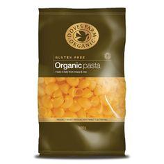 Doves Farm Gluten Free and Organic Pipe Regarte Pasta | a rice and maize based pasta | www.dovesfarm.co.uk