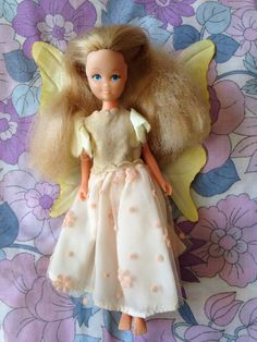 Vintage Hornby Flower Fairies 1983 Princess Fairy by LittleToyLost