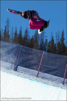 Kate Foster, a snowboarder from Cuckfield Sussex whyaintyou.com