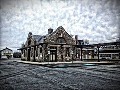 Wernersville Pennsylvania (Reading RR) Station, currently being restored.