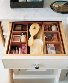 Sensible storage. Image from This is Glamorous.
