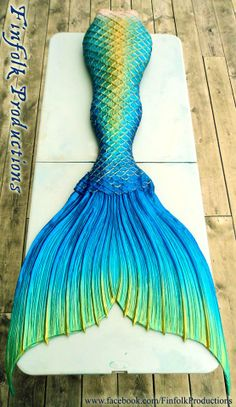 Silicone mermaid tail by Finfolk Productions. www.facebook.com/FinfolkProductions