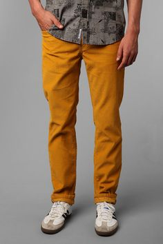 Levi's 511 5-Pocket Rinsed Corduroy Pant  #UrbanOutfitters