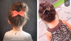 Penteados para menina #littlegirl #bebe #itgirl #cabelo #hairstyle #penteado