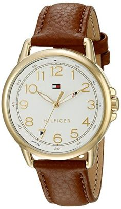 Tommy Hilfiger Womens 1781654 Casey Analog Display Japanese Quartz Brown Watch * You can get more details by clicking on the image.