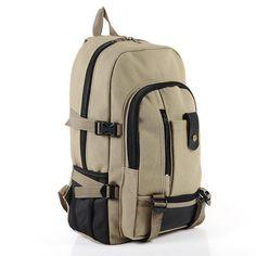 Casual Canvas Backpack Large Capacity - GentlemensJoggers