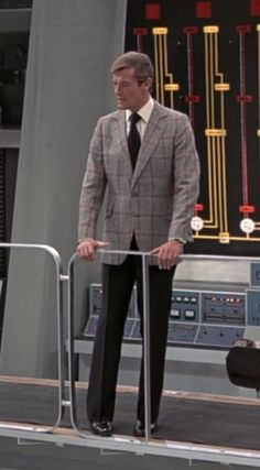 Roger Moore as James Bond in the Man with the Golden Gun. Nice jacket!