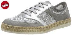 Tamaris Damen 1-1-23670-36 Sneakers, Silber (Silv. Glam Com 975), 42 EU - Tamaris schuhe (*Partner-Link)