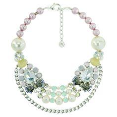 Tour de cou Rosaline collection Douce Romance 675 $  @Reminiscence Paris Rosaline Short Necklace Douce Romance collection