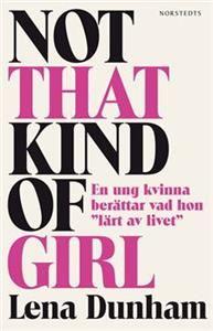 """Lena Dunhams tv-serie Girls, där hon själv spelar huvudrollen, har gjort succé världen över och i sin bok återkommer hon till och spinner vidare på de teman som gjort serien så omåttligt populär.""""Den här boken innehåller berättelser om underbara nätter med vidriga killar och vidriga dagar med underbara vänner, om ambitioner och de två livskriser jag genomgick före tjugo års ålder. Om mode och dess många tvångströjor. Om att visa upp sin kropp offentligt, vara tvungen att hävda sig på ett ..."""