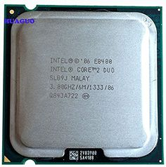 Intel Core 2 Duo E8400 3.0GHz 6MB 775 Processor-$10