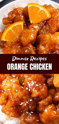 chinese recipes Orange chicken is one of the most popular Chinese dishes, and with good reason! Panda Express makes this dish popular, besides General Zuo Zongtang Chicken, it is also included in most takeaway menus. Orange Chicken Sauce, Easy Orange Chicken, Orange Chicken Crock Pot, Sauce For Chicken, Honey Garlic Chicken, Fried Chicken, Chinese Orange Chicken, Keto Chicken, Chinese Garlic Chicken