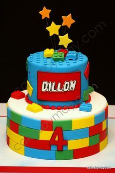 birthday cakes for boys lego - Google Search