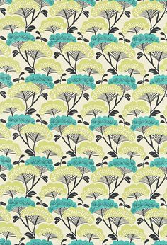 Tree Tops fabric by Sanderson