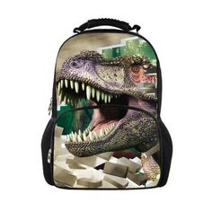 Super Cool 3D Large-Capacity Animal Cartoon Print Durable Quality Backpack 30 Designs