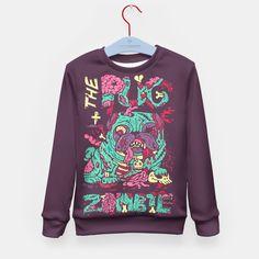 The Pug Zombie Kid's Sweater, Live Heroes
