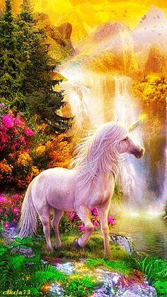Unicorn Castle Fantasy Fairy Horse 3d Smashed Wall View Sticker Poster Art Z165