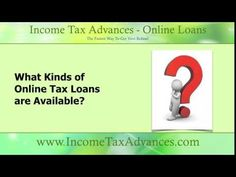 Important Questions About Online #TaxLoans: http://youtu.be/8INP0DZsekQ Apply at http://www.incometaxadvances.com/ for the cash you need.