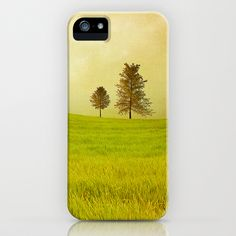 Trees & shining field iPhone Case by Viviana González - $35.00