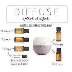 Diffuser Blend for mood management : dōTERRA essential oil blends