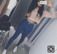 Outfits Juvenil – Page 9454280083 – Lady Dress Designs Teenage Outfits, Teen Fashion Outfits, College Outfits, Outfits For Teens, Girl Fashion, Womens Fashion, Edgy Teen Fashion, Fashion Tips, Cute Casual Outfits