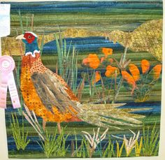 """""""I'm So Special"""", 36 x 36"""",  by Ruth LaCoe.  2015 Sauder Village Quilt Show.  Photo by Fabric Therapy."""