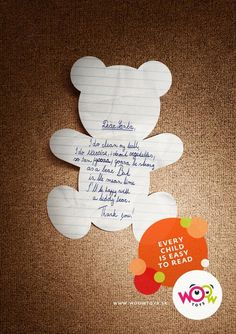 Woow Toys: Letters to Santa, Teddybear