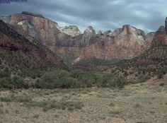 Zion National Park's webcam is located at park headquarters in Zion Canyon. The scene being shown one of the park's most famous views, The Temples and Towers of the Virgin.