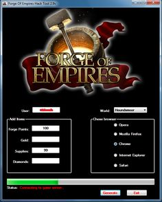 Forge of empires hack cheats tool 100% working free download