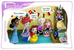 Pocket Princesses 203: EUROVISION!Please reblog, don't repost,...