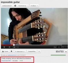 I didn't know Snape was still alive. Plus I didn't know that he could play guitar??? The world(muggle or wizard) is full of surprises.