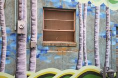 Downtown Laramie mural project blossoming | Deseret News Grainery Grove by Megan Meier #laramiemuralproject