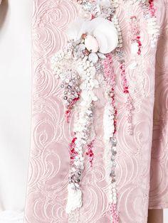 Antonio Marras shortsleeved embellished coat