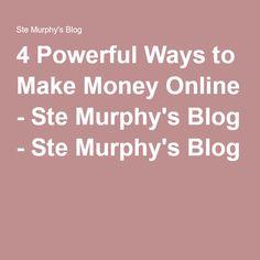 The infopreneur blueprint two day live event ste murphys blog 4 powerful ways to make money online stemurphy malvernweather Choice Image