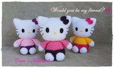 Häkelanleitung Hello Kitty, sweety Kitty <3